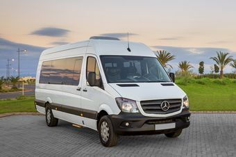 Location minibus de luxe Mercedes Benz Sprinter à Marrakech