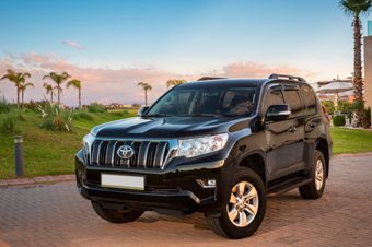 Location Toyota prado Marrakech